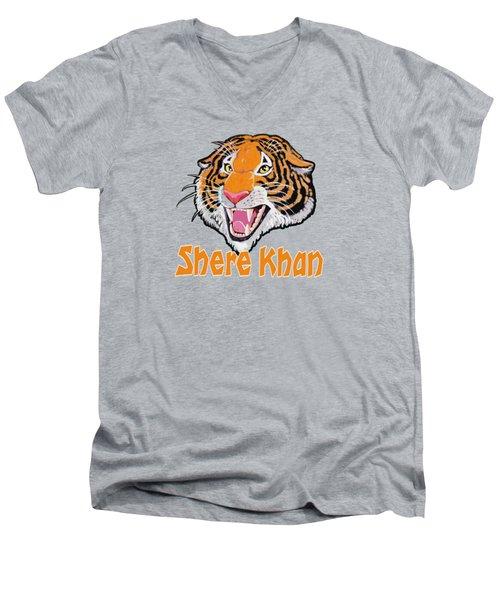 Shere Khan Men's V-Neck T-Shirt