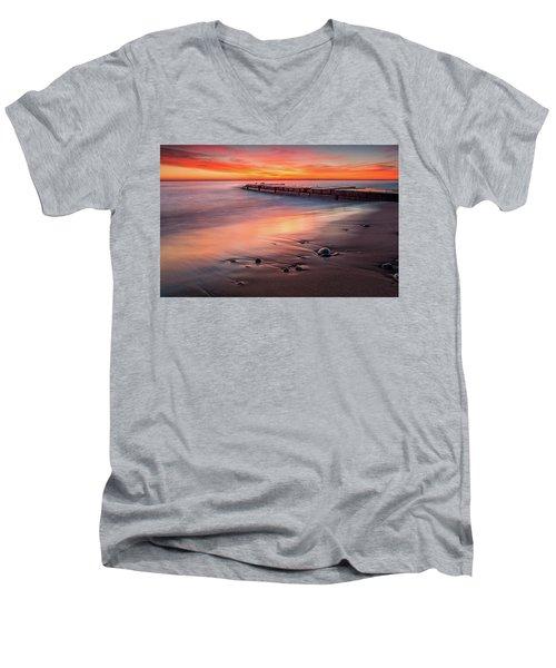 Sheridan Sunrise Men's V-Neck T-Shirt