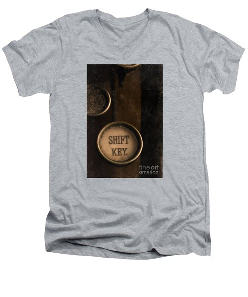 Shift Key Men's V-Neck T-Shirt
