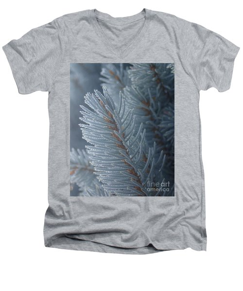 Men's V-Neck T-Shirt featuring the photograph Shine On by Christina Verdgeline