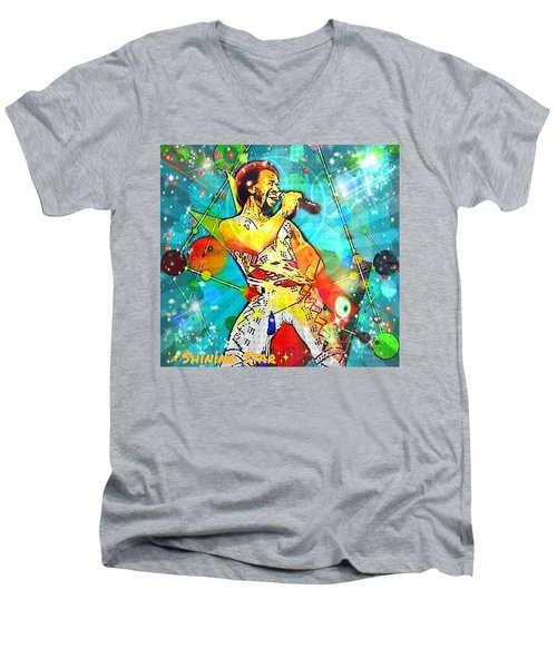 Shining Star  Men's V-Neck T-Shirt