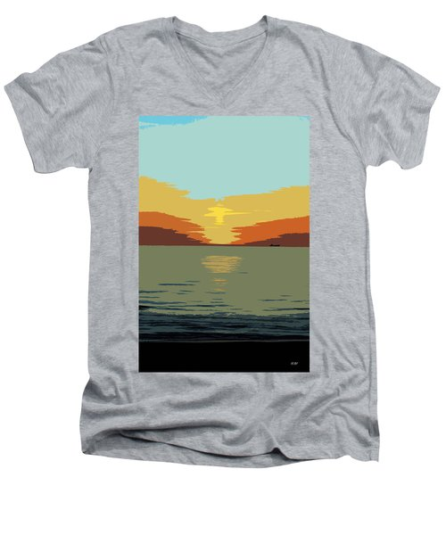 Shipping Off Men's V-Neck T-Shirt