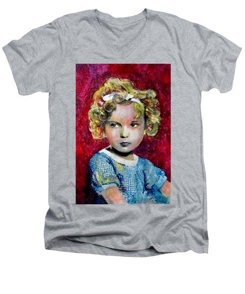 Shirley Temple Men's V-Neck T-Shirt