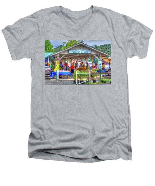 Shop Local Men's V-Neck T-Shirt