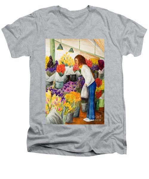 Shopping Pike's Market Men's V-Neck T-Shirt