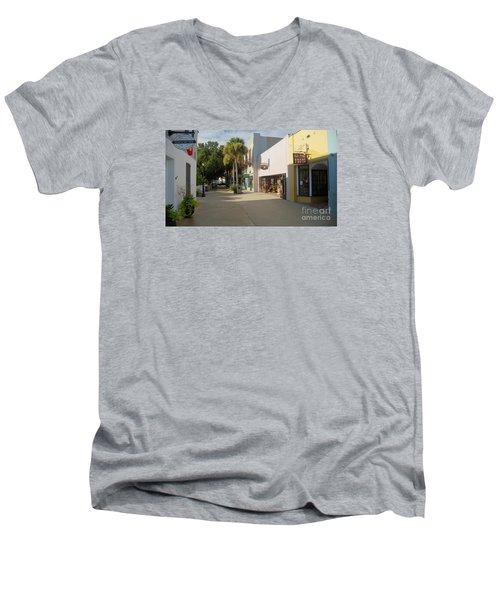 Shops On St George Street  Men's V-Neck T-Shirt