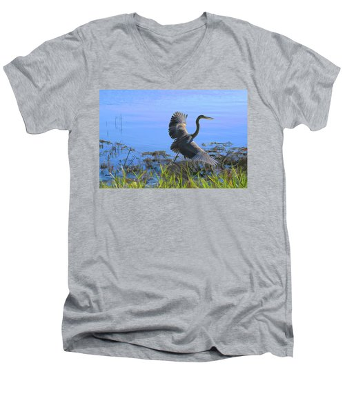 Shore Walk  Men's V-Neck T-Shirt