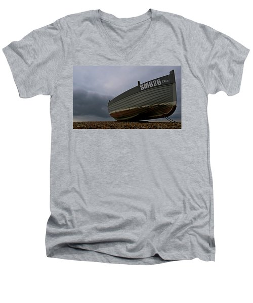 Shoreham Boat Men's V-Neck T-Shirt by John Topman