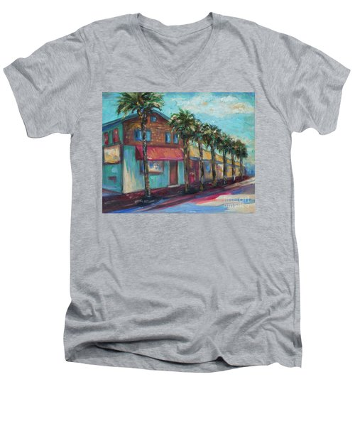 Shorelines And Pete's Men's V-Neck T-Shirt