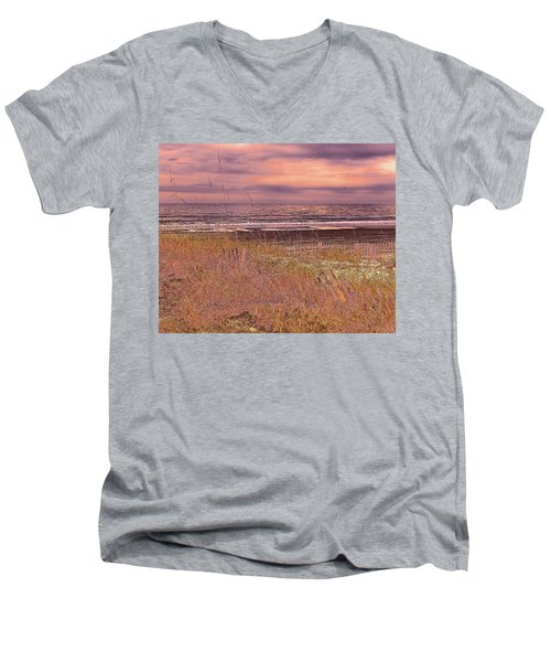 Shores Of Life Men's V-Neck T-Shirt