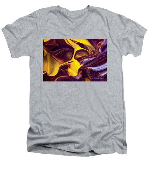 Shout Men's V-Neck T-Shirt