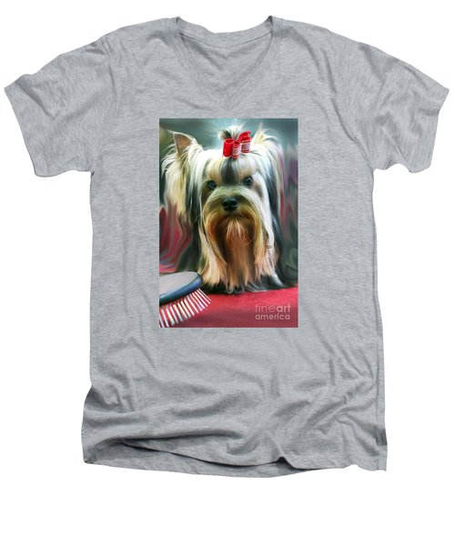 Show Girl Men's V-Neck T-Shirt