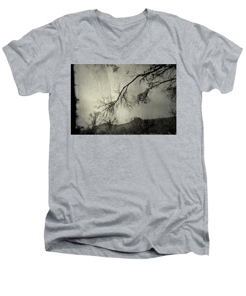 Men's V-Neck T-Shirt featuring the photograph Show Me  by Mark Ross