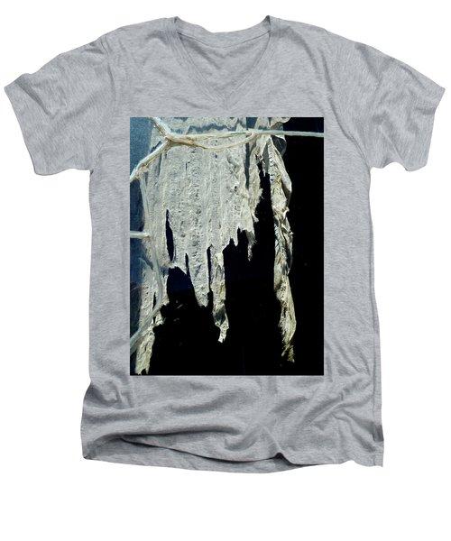 Shredded Curtains Men's V-Neck T-Shirt