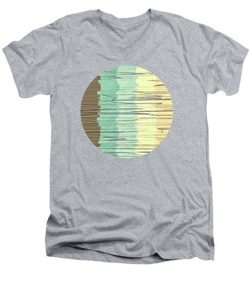 Shreds Of Color 2 Men's V-Neck T-Shirt