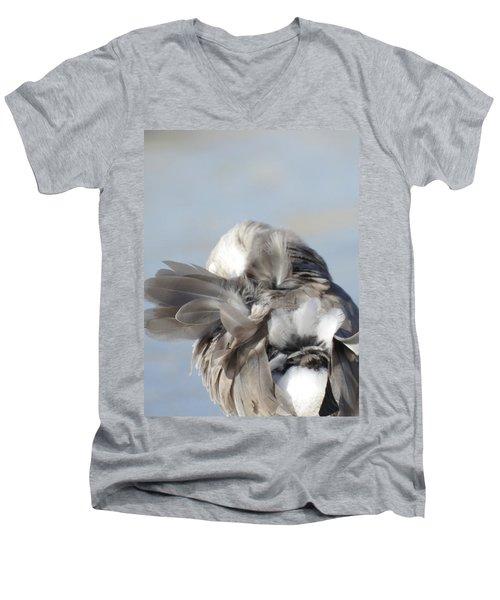 Shuffling Men's V-Neck T-Shirt