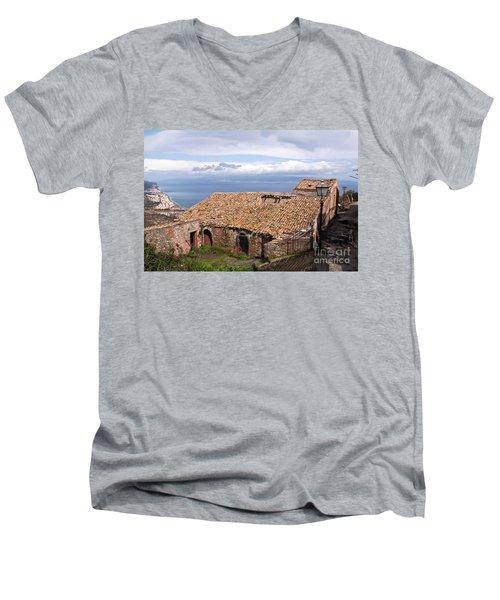 Sicilian Forgotten Sound Men's V-Neck T-Shirt