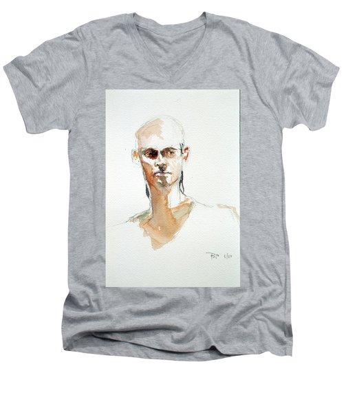 Side Glance Men's V-Neck T-Shirt