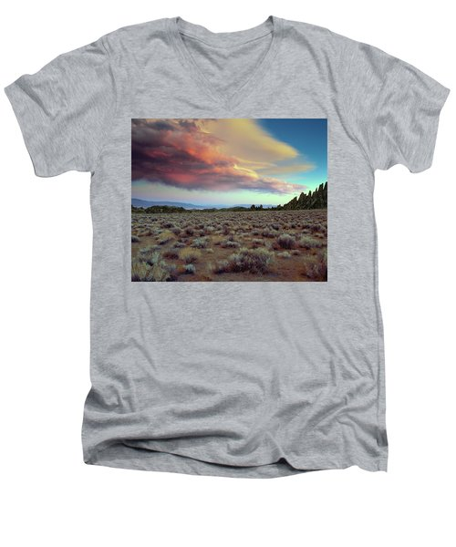 Sierra Crescendo Men's V-Neck T-Shirt