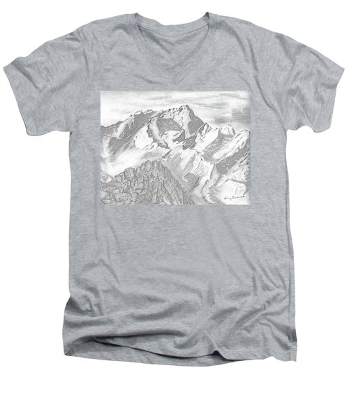 Sierra Mt's Men's V-Neck T-Shirt