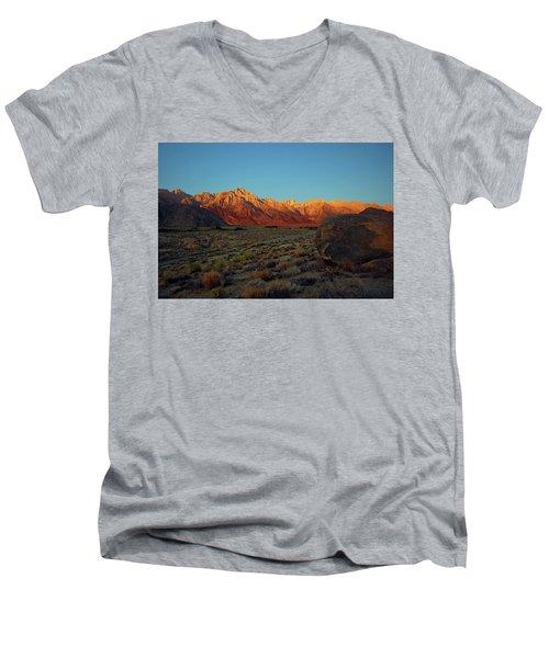 Sierra Nevada Sunrise Men's V-Neck T-Shirt