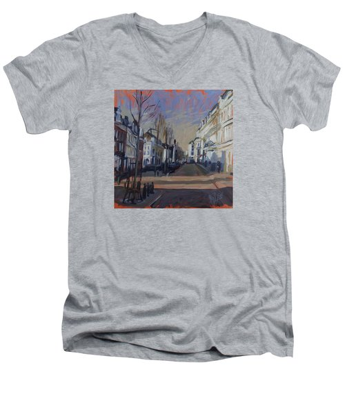 Silence Before The Storm Men's V-Neck T-Shirt by Nop Briex
