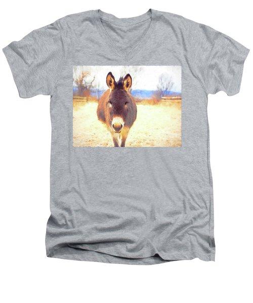 Silent Approach Men's V-Neck T-Shirt