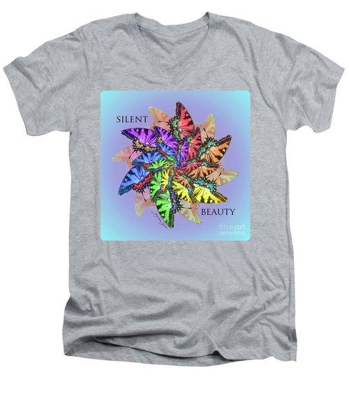 Silent Beauty Men's V-Neck T-Shirt