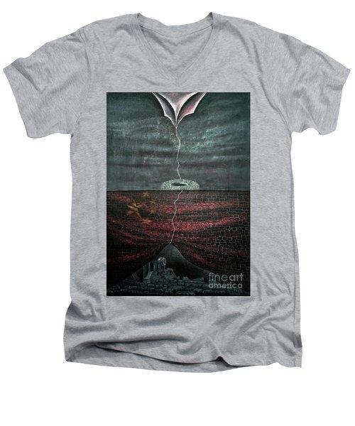 Silent Echo Men's V-Neck T-Shirt