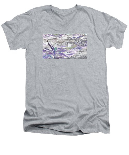 Silent Journey Men's V-Neck T-Shirt