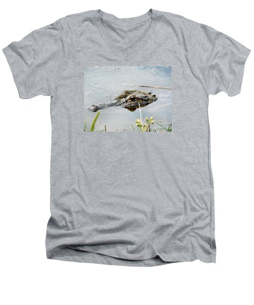 Silent Predator Men's V-Neck T-Shirt