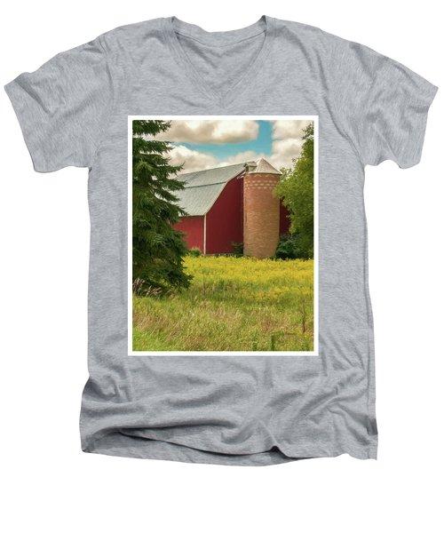 Silent Sentry Men's V-Neck T-Shirt
