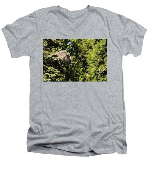 Silently Men's V-Neck T-Shirt