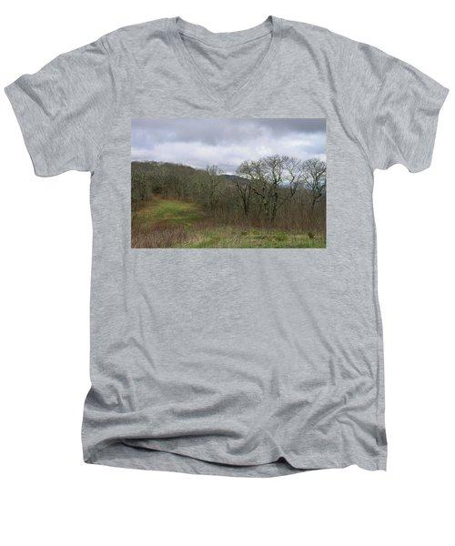 Silers Bald 2015a Men's V-Neck T-Shirt