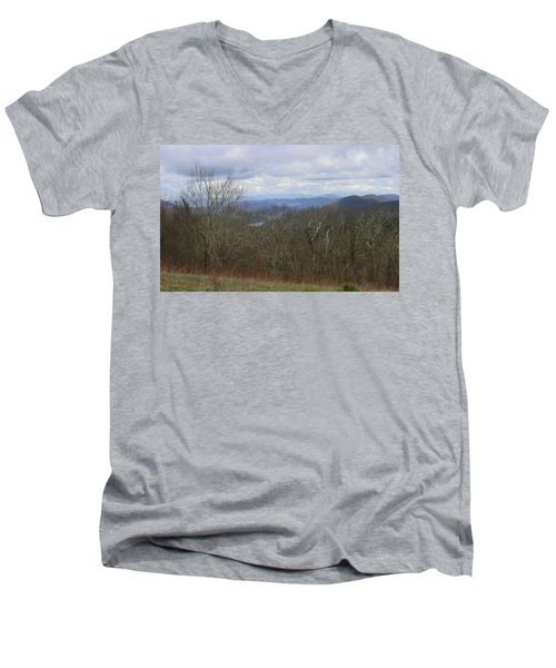 Silers Bald 2015c Men's V-Neck T-Shirt