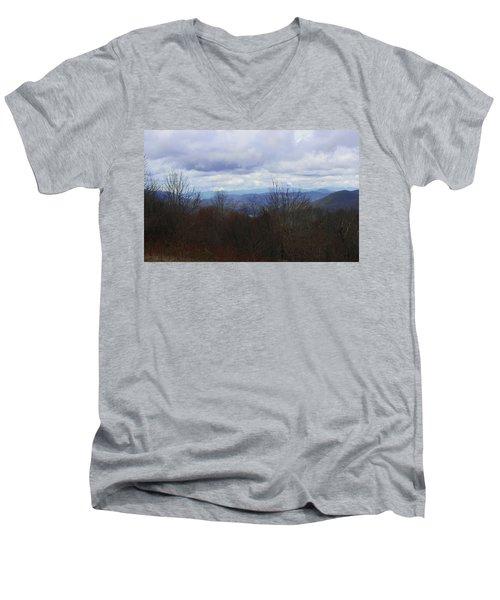 Silers Bald 2015d Men's V-Neck T-Shirt