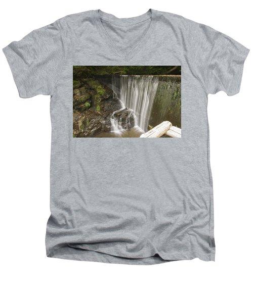 Silk Cascade Men's V-Neck T-Shirt