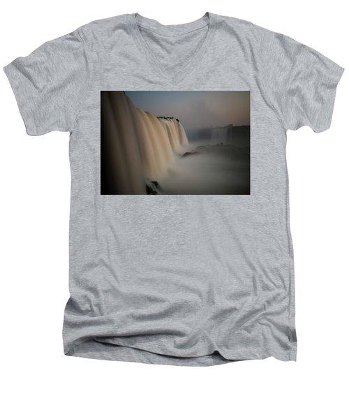 Silk Torrent Men's V-Neck T-Shirt