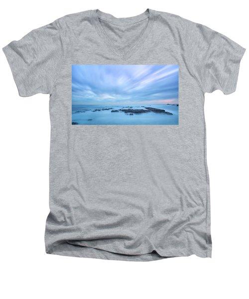 Silk Water 2 Men's V-Neck T-Shirt