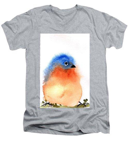Silly Bird #2 Men's V-Neck T-Shirt by Anne Duke