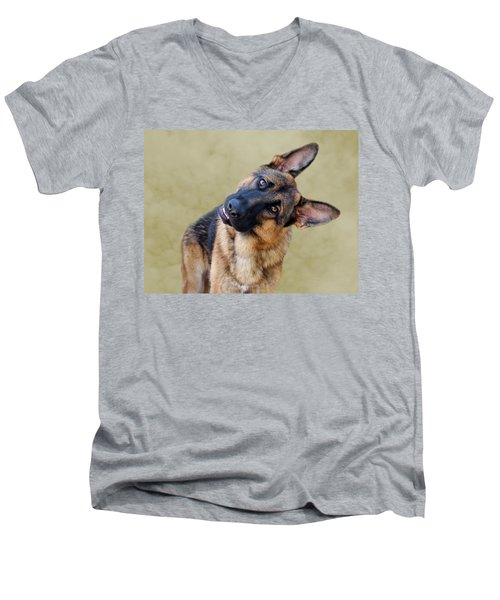 Silly Boy Men's V-Neck T-Shirt