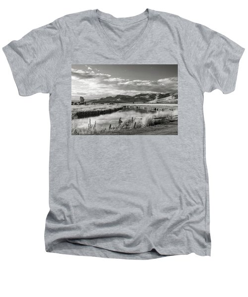 Silver Creek Men's V-Neck T-Shirt