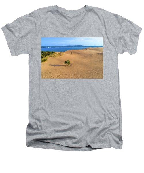 Silver Lake Dunes Men's V-Neck T-Shirt