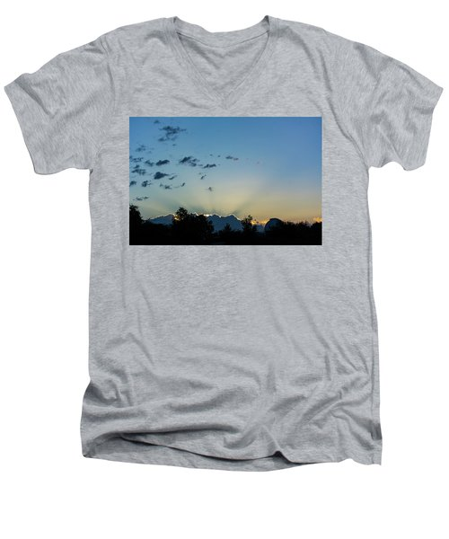 Silver Lining Men's V-Neck T-Shirt