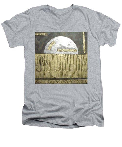 Silver Moon Men's V-Neck T-Shirt