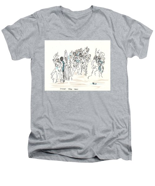 Simchat Torah Men's V-Neck T-Shirt