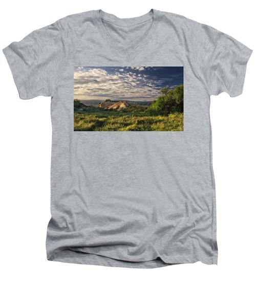 Simi Valley Overlook Men's V-Neck T-Shirt