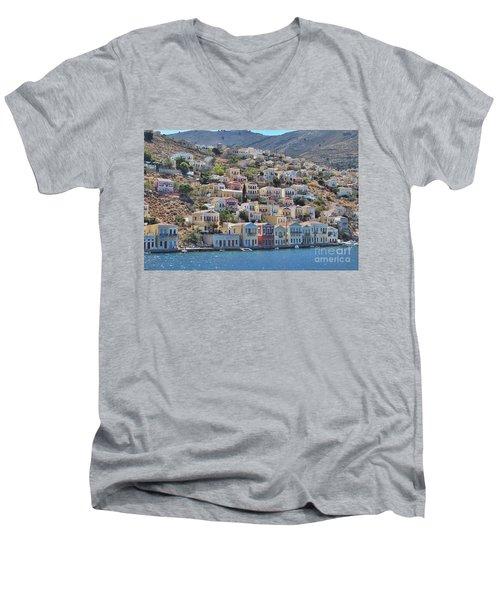 Simi Men's V-Neck T-Shirt