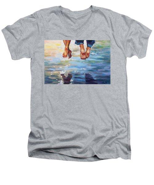 Simply Together Men's V-Neck T-Shirt