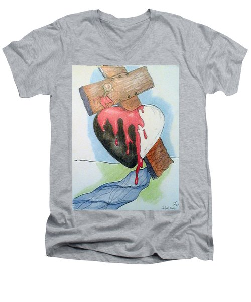 Sin Washer Men's V-Neck T-Shirt